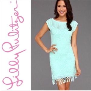 Lily Pulitzer Adabelle Crocheted Dress.  Size S